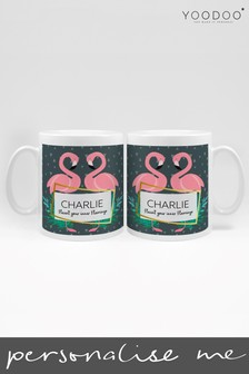 Personalised Flaunt Your Inner Flamingo Mug By YooDoo