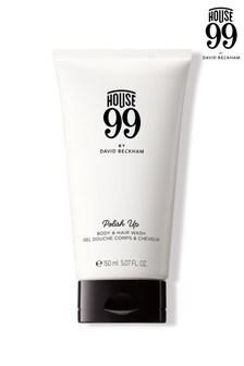 House 99 Polish Up Body & Hair Wash 150ml