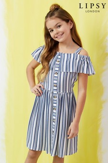 4add309bcda2 Buy Girls dresses Stripe Stripe Oldergirls Youngergirls Oldergirls ...