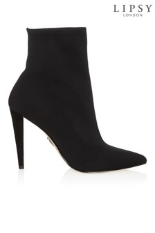 Lipsy Stiletto Knitted Sock Boots