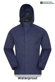 Mountain Warehouse Navy Pakka Mens Waterproof Jacket