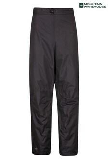 Mountain Warehouse Black Spray Mens Waterproof Trousers