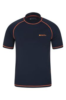 Mountain Warehouse Navy Mens UV Rash Vest