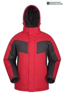 Mountain Warehouse Dark Red Dusk Mens Ski Jacket