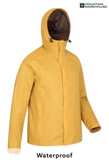 Mountain Warehouse Yellow Torrent Mens Waterproof Jacket