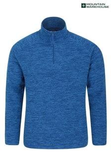 Mountain Warehouse Cobalt Snowdon Mens Micro Fleece
