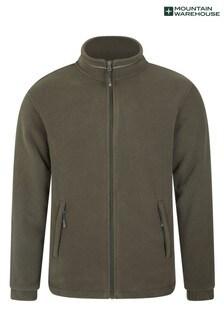 Mountain Warehouse Khaki Bernard Mens Windproof Fleece