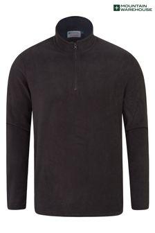 Mountain Warehouse Black Mens Camber Fleece