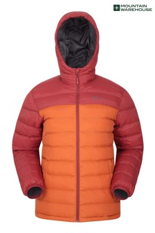 Mountain Warehouse Orange Seasons Mens Padded Jacket