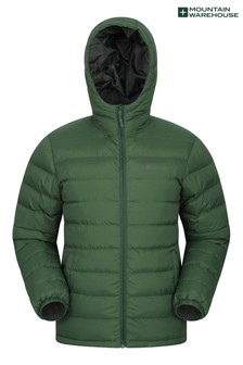 Mountain Warehouse Green Seasons Mens Padded Jacket