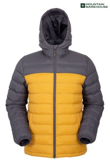 Mountain Warehouse Yellow Seasons Mens Padded Jacket