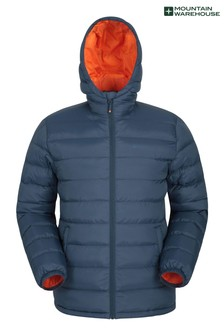 Mountain Warehouse Navy Seasons Mens Padded Jacket