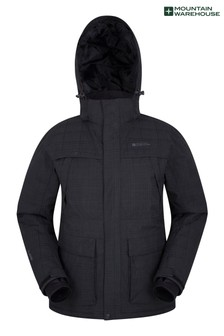 Mountain Warehouse Black Apollo Mens Ski Jacket