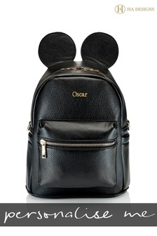 Personalised Ears Backpack Bag By HA Designs