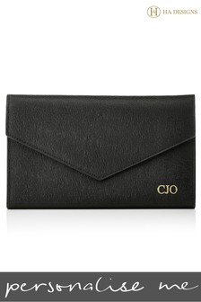 Personalised Saffiano Travel Envelope By HA Designs