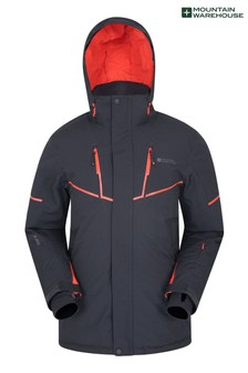 Mountain Warehouse Grey Galactic Extreme Mens Recco Ski Jacket