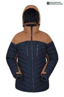 Mountain Warehouse Tan Vulcan Mens Padded Ski Jacket