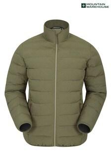 Mountain Warehouse Dark Green Herne Mens Padded Jacket