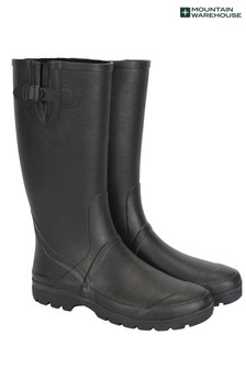 Mountain Warehouse Black Mens Tall Rubber Wellies