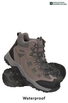 Mountain Warehouse Khaki Adventurer Mens Waterproof Boots