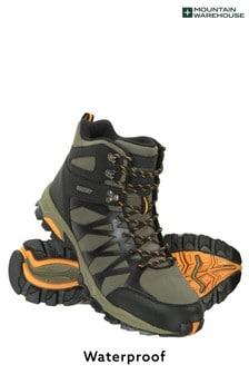 Mountain Warehouse Khaki Trekker Ii Waterproof Mens Softshell Boots