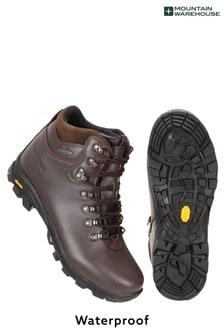 Mountain Warehouse Brown Latitude Extreme Waterproof Vibram Mens Boots