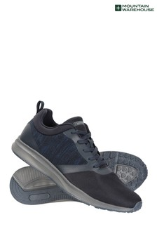 Mountain Warehouse Navy Distance Mens Trainers