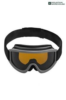 Mountain Warehouse Grey Mens Ski Goggles