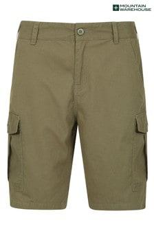 Mountain Warehouse Khaki Lakeside Mens Cargo Shorts
