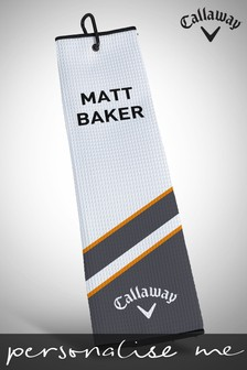 Personalised Callaway Customs LUMI Tri Fold Towel