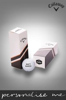 Personalised Callaway Chrome Soft 20 - Half Dozen Box