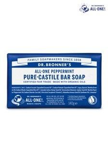 Dr. Bronners Organic Peppermint Soap Bar 140g