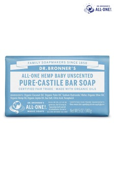 Dr. Bronners Organic Baby Mild Soap Bar 140g