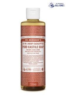 Dr. Bronners Organic Eucalyptus Pure-Castile Liquid Soap 237ml