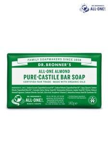 Dr. Bronners Organic Almond Soap Bar 140g