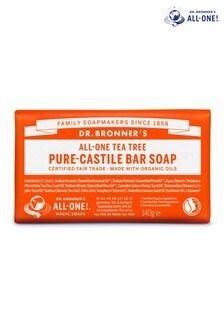 Dr. Bronners Organic Tea Tree Soap Bar 140g