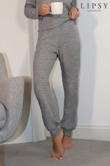 Lipsy Grey Lounge Cable Jogger