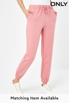 Only Pink Cuffed Joggers