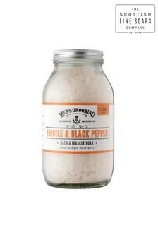 Scottish Fine Soaps Thistle & Black pepper Bath & Muscle Soak