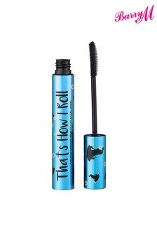 Barry M Cosmetics That's How I Roll Waterproof Mascara