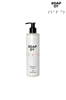 The Soap Co. Mulberry & Amber Eco Hand Lotion 300ml