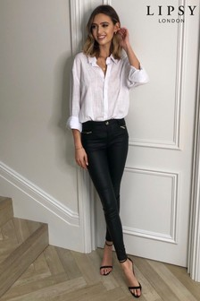 Lipsy Mid Rise Skinny Kate Jean Long Length