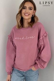 Lipsy Pink Sweatshirt