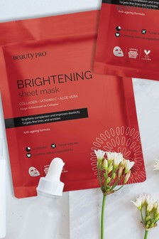 BeautyPro Brightening Collagen Sheet Mask
