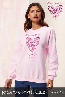 Personalised Sweatshirt by Wear it with Love