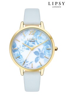 Lipsy White Floral Watch