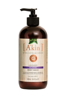 A'kin Lavender Body Wash 500ml