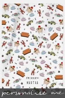 Personalised Friends™ Blanket by Custom Gifts