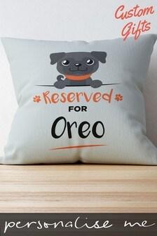Personalised Luxury Dog Cushion by Custom Gifts
