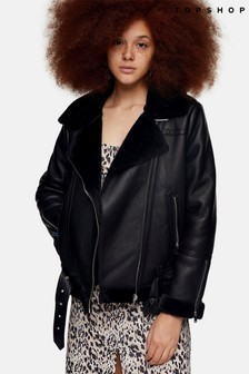 Topshop Aviator Jacket